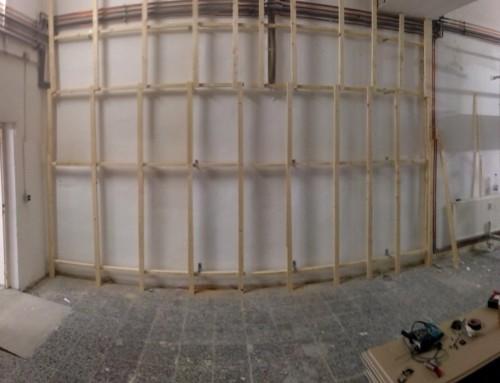 Eine neue Wand